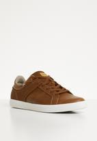 ALDO - Lace-up sneaker - tan