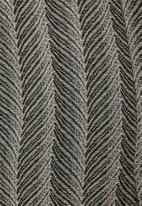STYLE REPUBLIC PLUS - Printed unlined coat - black & cream