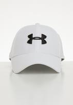 Under Armour - Men's blitzing 3.0 cap - white/steel black
