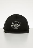 Herschel Supply Co. - Whaler mesh cap - black