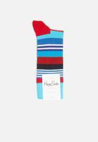 Happy Socks - Multi stripe sock - multi
