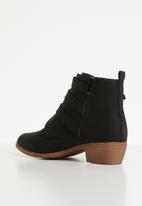 Jada - Western ankle boot - black