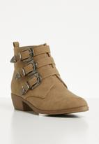 Jada - Western ankle boot - taupe