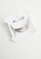 ALDO - Legundra bangle - silver