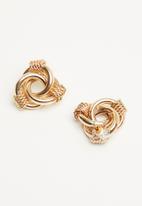 ALDO - Hopfensp earrings - gold