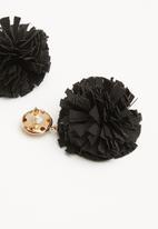 ALDO - Legoredd earrings - black