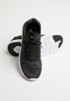 PUMA - Ignite flash evoKNIT - puma black - charcoal grey - fair aqua