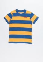 Levi's® - Pre-boys stripe knit T-shirt - blue & yellow
