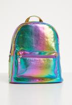 POP CANDY - Metalic backpack - multi