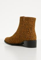Superbalist - Kendra ankle boot - leopard