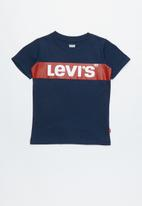 Levi's® - Pre-boys oversized box tab T-shirt - navy