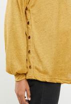 edit Maternity - Maternity studded jersey - mustard