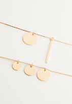 ALDO - Elirith necklace - gold
