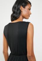 edit Maternity - Maternity maxi dress - black