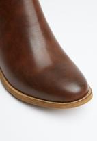 Superbalist - Basic stud ankle boot - brown