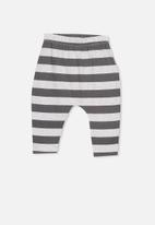 Cotton On - The legging - grey & charcoal