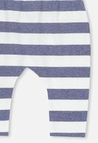 Cotton On - The legging - blue & white