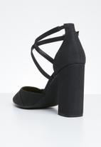 Call It Spring - Pointed toe block heel - black