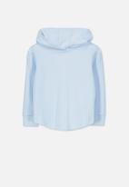 Cotton On - Hayden hooded top - blue