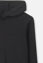 Cotton On - Hayden hooded top - black