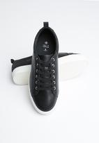 Call It Spring - Lace-up flatform sneaker - black