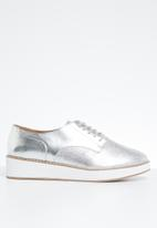 Call It Spring - Fatform oxford sneaker - silver