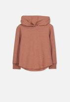Cotton On - Hayden hooded top - brown