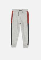 Cotton On - Mario trackpant - grey