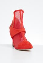 Miss Black - Lee heel - tangerine