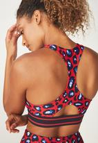 Cotton On - Double elastic - red & navy