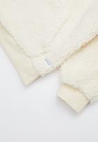 Cotton On - Talita teddy hooded fleece - cream