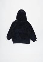 Cotton On - Teddy hooded fleece - navy