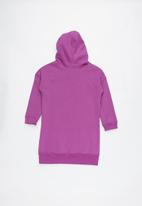 Cotton On - Long sleeve hood dress - purple
