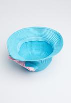 POP CANDY - Straw hat - blue