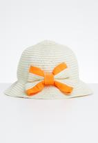 POP CANDY - Straw hat - cream