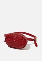 Rubi - Brodie belt bag - red