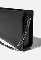 Cotton On - In chains cross body bag - black