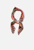 Cotton On - Soho satin scarf - multi