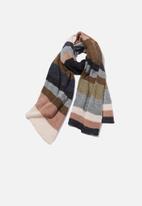 Cotton On - Autumn stripe rib scar - multi
