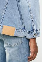 Cheap Monday - Upsize nineties gem jacket - blue