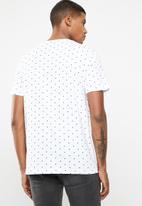 Jack & Jones - Polka short sleeve T-shirt - white