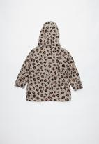 Cotton On - Alfie hooded jacket - brown