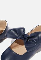 Cotton On - Knot ballet - navy