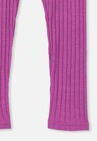 Cotton On - Huggie tights - purple