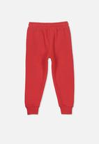 Cotton On - Lewis trackpant - red