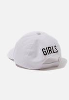 Cotton On - Baseball cap - white & black