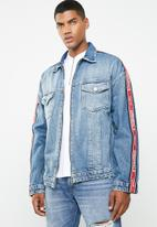 Jack & Jones - Earl oversized jacket - blue