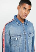 Jack & Jones - Earl oversized jacket - blue