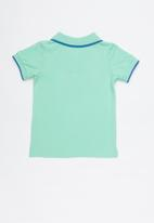 Cotton On - Hugo polo tee - green