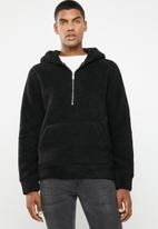 Jack & Jones - Teddy sweater - black